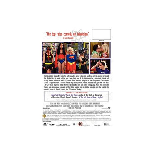 The Big Bang Theory: The Complete Third Season DVD 3-Disc Set