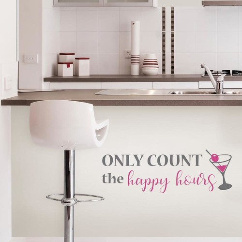 WallPOPs Happy Hours Wall Quote