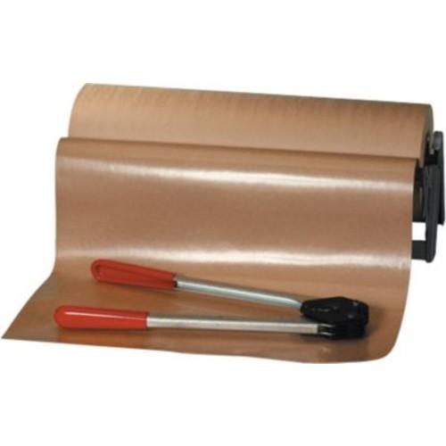 Staples Poly Coated Kraft Paper Rolls, 50-lb, 600'