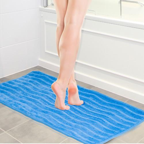 Lavish Home Memory Foam Extra Long Bath Rug Mat - 24