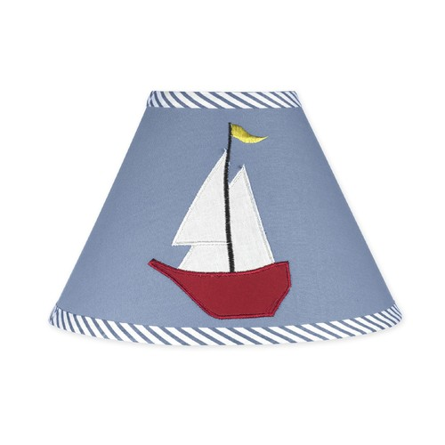 Sweet Jojo Designs Come Sail Away Collection Lamp Shade