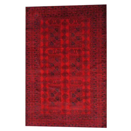 Balouchi Red/Black Area Rug
