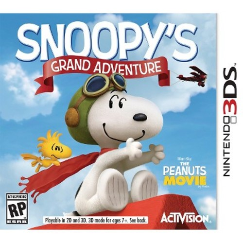 Activision The Peanuts Movie Snoopy's Grand Adventure - Nintendo 3DS (77088)