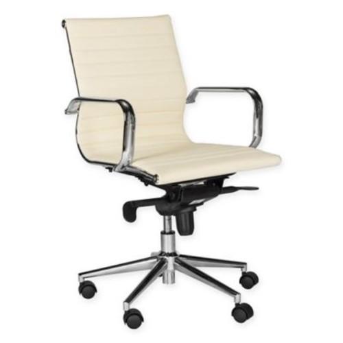 Safavieh Loreley Desk Chair in White