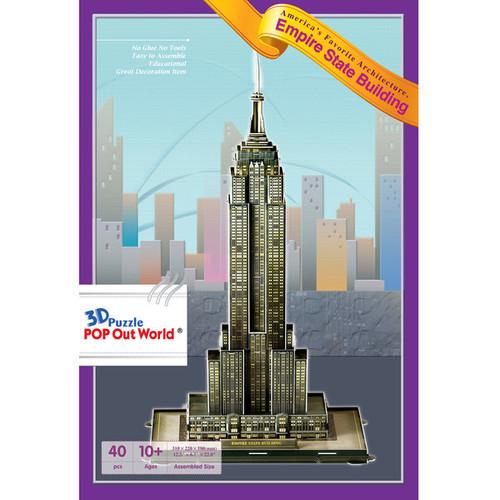 HSI Empire State Building 40-Piece 3D Puzzle