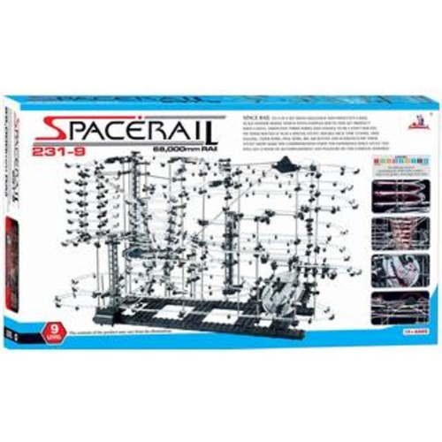 SpaceRail 40,000mm Rail Level 8 Marble Roller Coaster Space Rail Game