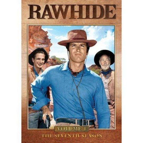 Rawhide: The Seventh Season, Vol. 1 [4 Discs] [DVD]