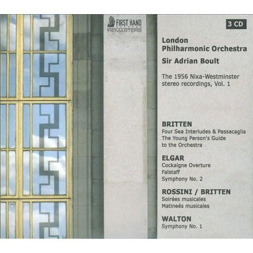 1956 Nixa-Westminster Stereo Recordings, Vol. 1 - Britten: Opp. 9, 24, 33a, 33b, 34 / Elgar: Opp. 40, 63, 68 / Walton: Symphony No. 1