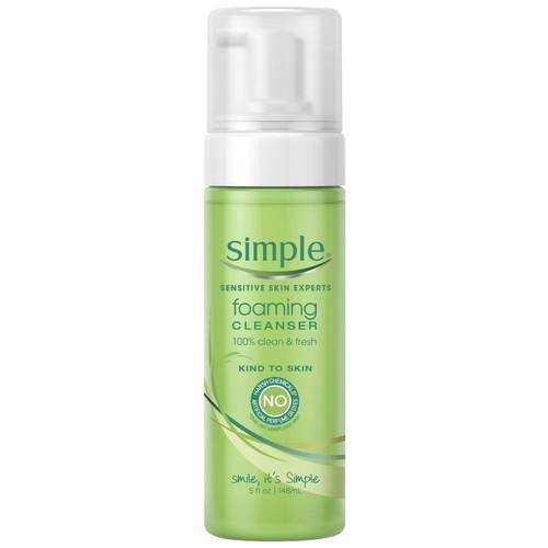 Simple Foaming Cleanser, Rich & Mild 5 fl oz (148 ml)