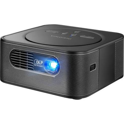 Insignia Reverb - Premium Audio Pico WVGA DLP Projector - Black