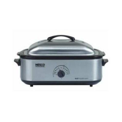 Metal Ware Corpation Nesco 18 Qt Professional Stainless Steel Roaster Oven