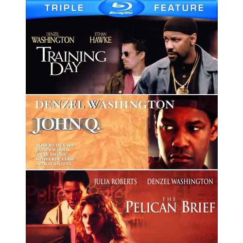 John Q./The Pelican Brief/Training Day [3 Discs] [Blu-ray]