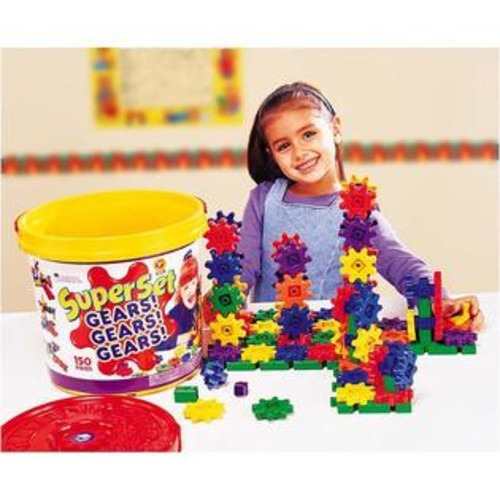 Learning Resources GEARS SUPER SET 150 PIECES