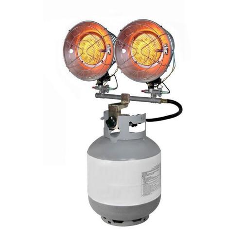 Dyna-Glo 30K LP Double Tank Top Gas Portable Heater - CSA