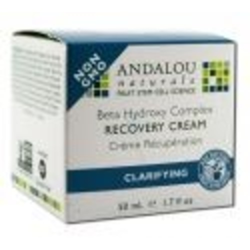 Andalou Naturals Clear Overnight Recovery Cream 1.7 ounces
