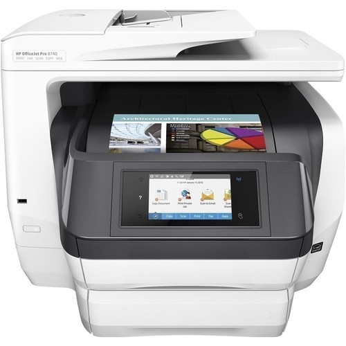 HP OfficeJet Pro 8740 All-in-One Wireless Printer with Mobile Printing (K7S42A)