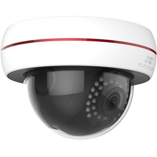 EZVIZ Husky Dome CV-220 1080p Outdoor Dome Camera with 16GB microSD Card, 2 Pack