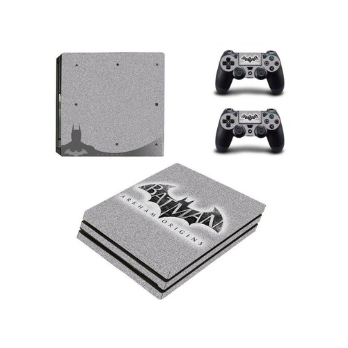 Batman Arkham Origin ps4 pro skin decal for console and controllers