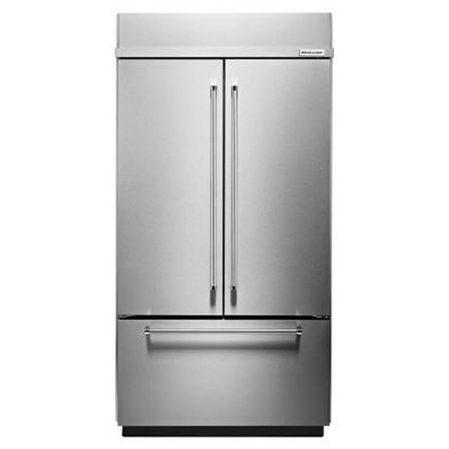 KitchenAid 24.2 Cu. Ft. French Door Refrigerator - Stainless Steel