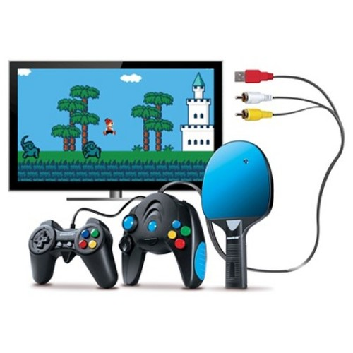 dreamGEAR Plug N Play Game System with 300 Arcade Style Video Games