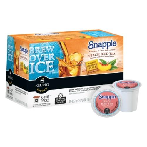 Keurig Snapple Peach Iced Tea Tea K-Cups 12 pk
