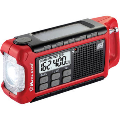 ER200 Emergency Crank Weather Alert Radio
