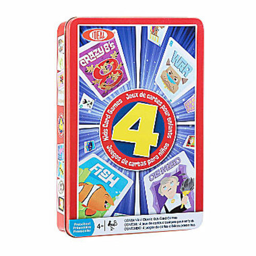 Ideal Classic Games Set Of 4 Card Game