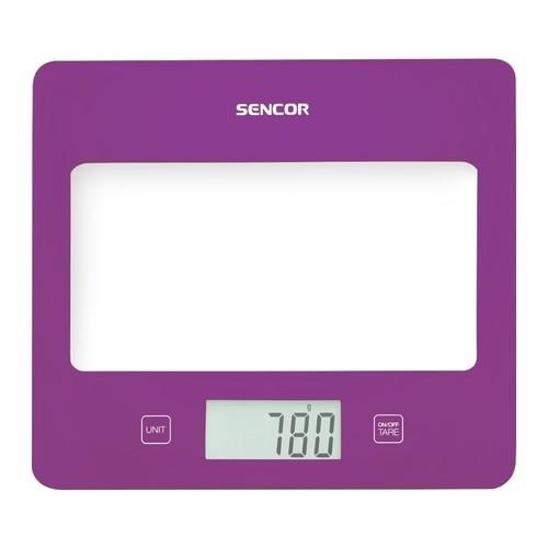 Sencor - Kitchen Scale - Violet