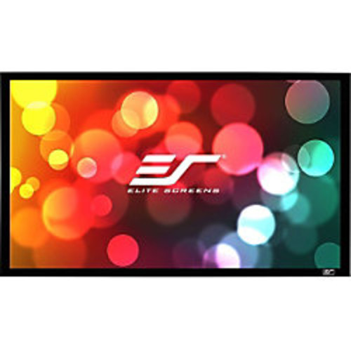 Elite Screens SableFrame ER100DHD3 Fixed Frame Projection Screen - 100