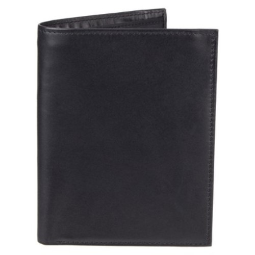 Men's Leather Passport/Visa Holder - Goodfellow & Co Black One Size
