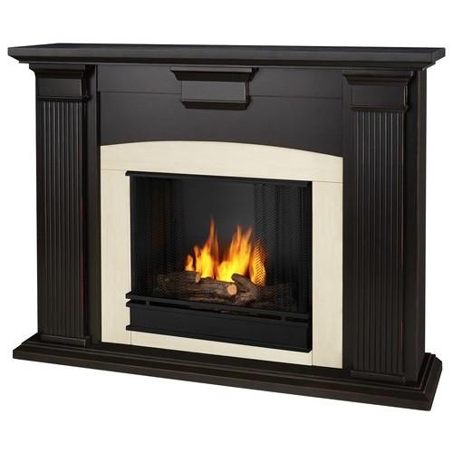 Real Flame - Adelaide Gel Fireplace - Blackwash