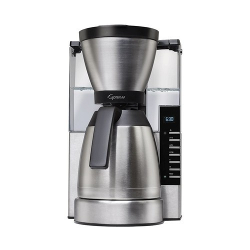 Capresso - 10-Cup Coffeemaker - Stainless steel