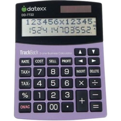 Datexx 2-Line Desktop Accounting Calculator, DD-7722