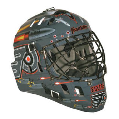 Philadelphia Flyers Franklin Sports NHL Mini Goalie Mask - Philadelphia Flyers