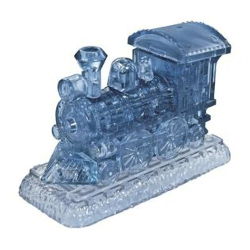 Bepuzzled 3D Crystal Locomotive 38-piece Puzzle