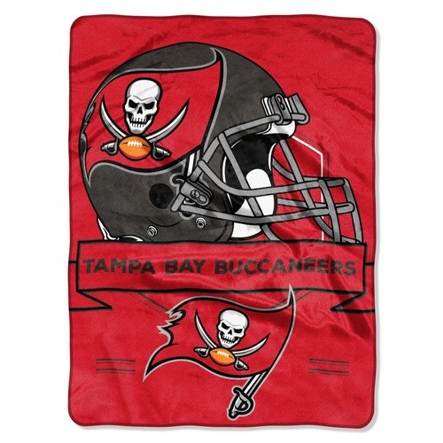 NFL Plush Throw - Tampa Bay Buccaneers