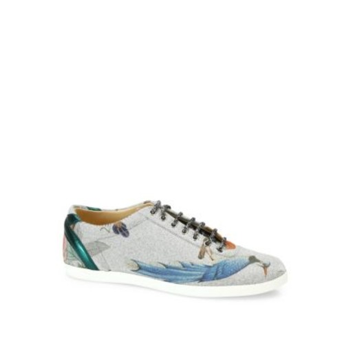 GUCCI Tian Bambi Glitter Low-Top Sneakers