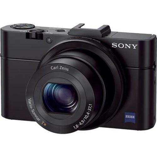 Sony Cyber-shot DSC-RX100 II Large-sensor 20.2-megapixel compact digital camera with Wi-Fi