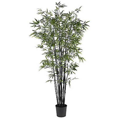 Nearly Natural 6.5-ft. Black Bamboo Silk Tree - JCPenney