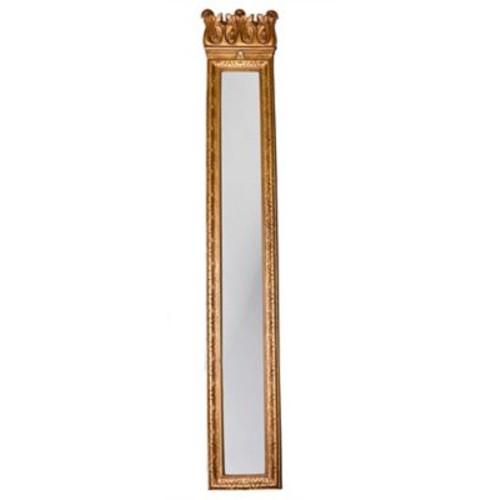 Hickory Manor House Acanthus Strip Mirror; Baroque