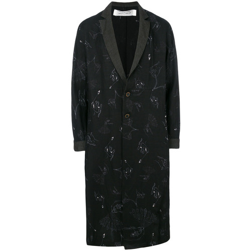 Individual Sentiments long printed coat