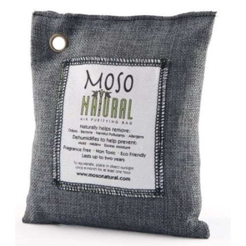 Moso Natural Air Purifying Bag, 200gm, Charcoal