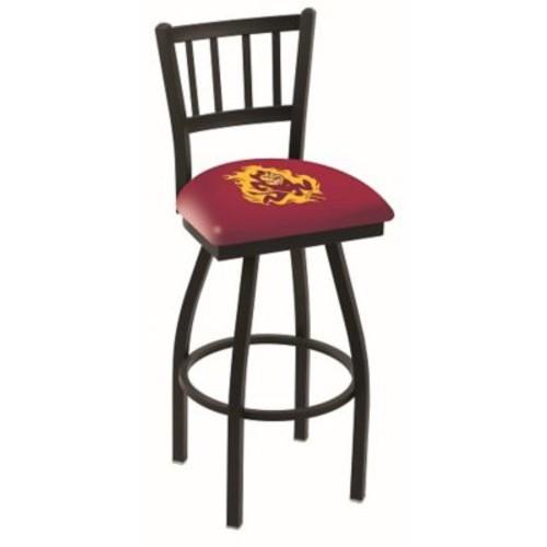 Holland Bar Stool NCAA 39'' Swivel Bar Stool; Arizona State Sun Devils- Sun Devil