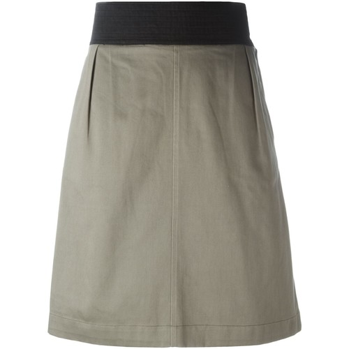 YVES SAINT LAURENT VINTAGE A-Line Skirt