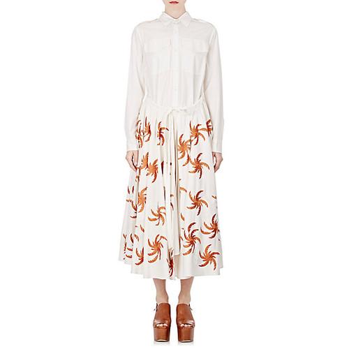 Embroidered Deanna Shirtdress