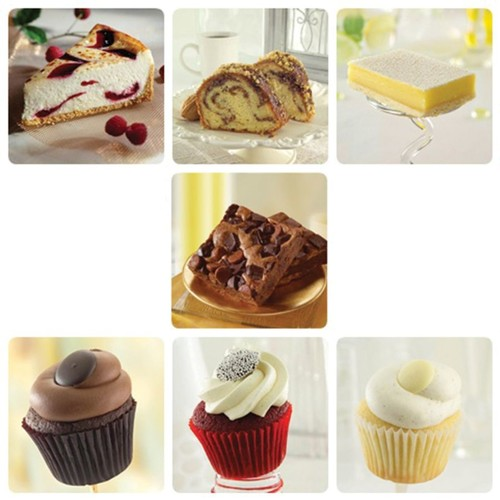 Sweet Street Desserts Cake, Bar, Cupcake Variety, 88 Servings