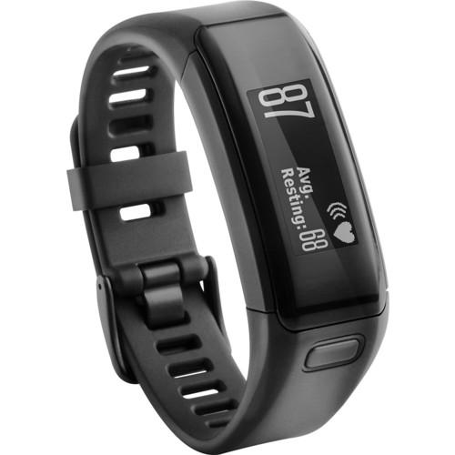 Garmin - Vivosmart HR Activity Tracker + Heart Rate - Black