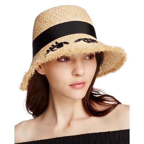 KATE SPADE NEW YORK Winking Cloche Hat