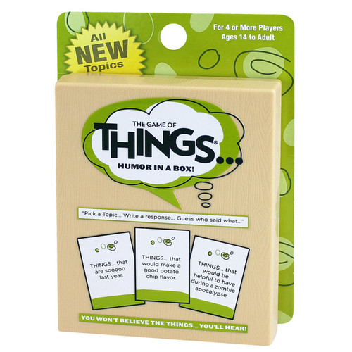 PlayMonster The Game of Things Card Game