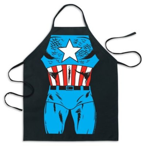 ICUP Marvel Captain America Be The Hero Apron in Black